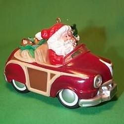1987 Here Comes Santa #9 - Santa's Woody Hallmark Ornament