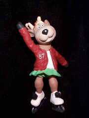 1987 Reindeer Champs #2 -  Dancer Hallmark Ornament
