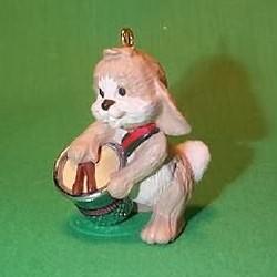 1987 Thimble #10 - Drummer Hallmark Ornament