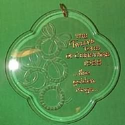 1988 12 Days Of Christmas #5 - Golden Rings Hallmark Ornament