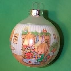 1988 Betsey Clark #3 - Home For Christmas Hallmark Ornament