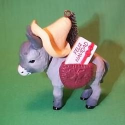 1988 Feliz Navidad Hallmark Ornament
