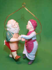 1988 Mr. And Mrs. Claus #3 - Shall We Dance Hallmark Ornament