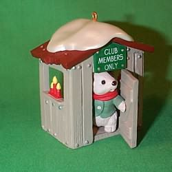 1988 Our Clubhouse Hallmark Ornament