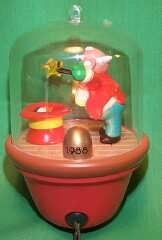 1988 Santa And Sparky #3f - SDB Hallmark Ornament
