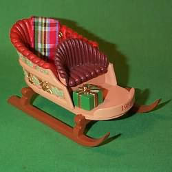 1988 Sleighful Of Dreams - Club Hallmark Ornament