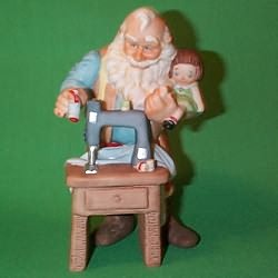 1988 The Toymaker #3 - Stitched With Love Hallmark Ornament