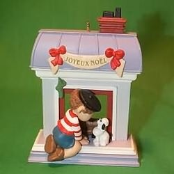 1988 Windows Of The World #4 - French Hallmark Ornament