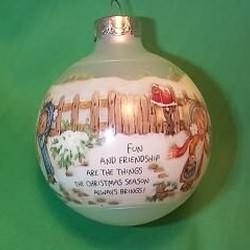 1989 Betsey Clark #4 - Home For Christmas Hallmark Ornament