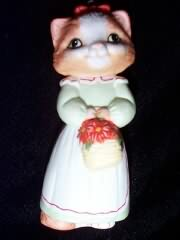 1989 Christmas Kitty #1 Hallmark Ornament