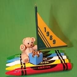 1989 Crayola #1 - Journey Hallmark Ornament