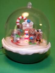 1989 Forest Frolics #1 Hallmark Ornament