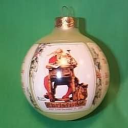 1989 Norman Rockwell - SDB Hallmark Ornament