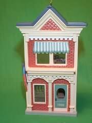 1989 Nostalgic Houses #6 -  Post Office Hallmark Ornament