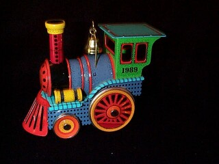 1989 Tin Locomotive #8f Hallmark Ornament