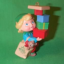 1990 Armful Of Joy Hallmark Ornament