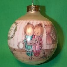 1990 Betsey Clark #5 - Home For Christmas Hallmark Ornament