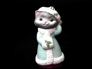 1990 Christmas Kitty #2 Hallmark Ornament