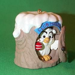 1990 Club Hollow Hallmark Ornament