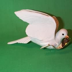 1990 Dove Of Peace Hallmark Ornament