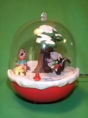 1990 Forest Frolics #2 Hallmark Ornament