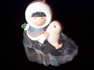 1990 Frosty Friends #11 - Slide And Seal - NB Hallmark Ornament