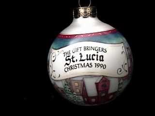 1990 Gift Bringers #2 - St. Lucia - DB Hallmark Ornament
