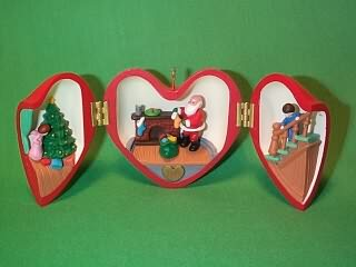 1990 Heart Of Christmas #1 Hallmark Ornament