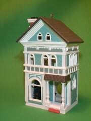 1990 Nostalgic Houses #7 -  Holiday Home Hallmark Ornament