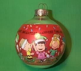1990 Peanuts Hallmark Ornament
