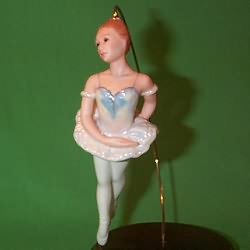1990 Sugar Plum Fairy Hallmark Ornament