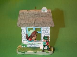 1990 Windows Of The World #6f - Irish Hallmark Ornament