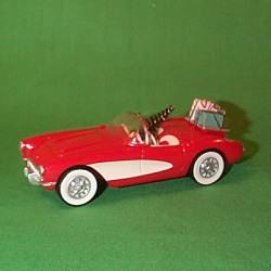 1991 Classic Cars #1 - Corvette Hallmark Ornament