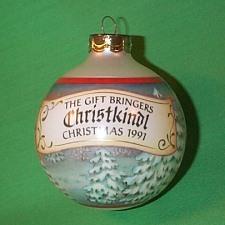 1991 Gift Bringers #3 - Christkindl Hallmark Ornament