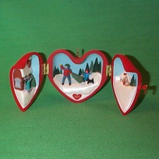 1991 Heart Of Christmas #2 Hallmark Ornament