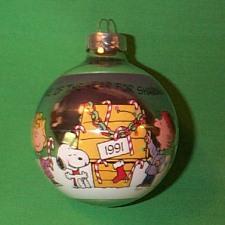 1991 Peanuts Hallmark Ornament