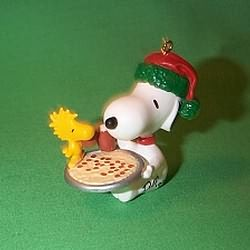 1991 Snoopy And Woodstock Hallmark Ornament