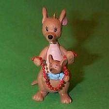 1991 Winnie The Pooh - Kanga And Roo Hallmark Ornament