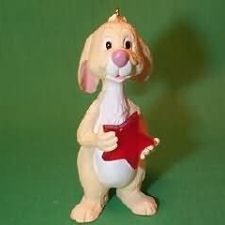 1991 Winnie The Pooh - Rabbit Hallmark Ornament