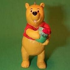 1991 Winnie The Pooh - Winnie The Pooh Hallmark Ornament