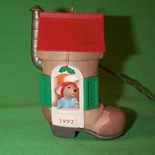 1992 Chris Mouse #8 - Tales Hallmark Ornament