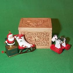 1992 Christmas Treasures Hallmark Ornament