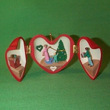 1992 Heart Of Christmas #3 Hallmark Ornament