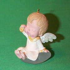 1992 Mary's Angels #5 - Lily Hallmark Ornament