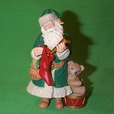 1992 Merry Olde Santa #3 Hallmark Ornament