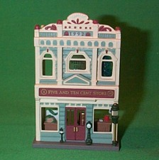 1992 Nostalgic Houses #9 -  5 And 10 Cent Store Hallmark Ornament