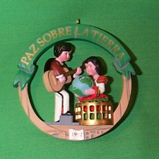 1992 Peace On Earth #2 - Spain Hallmark Ornament