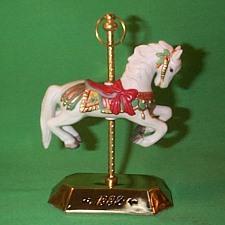 1992 Tobin Fraley Carousel #1 Hallmark Ornament