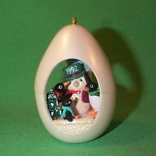 1992 Winter Surprise #4f Hallmark Ornament