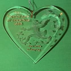 1993 12 Days Of Christmas #10 - Lords Leaping - SDB Hallmark Ornament